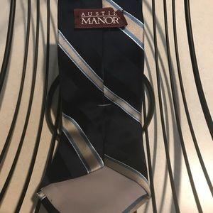 Accessories - Austin manor Classic stripe tie